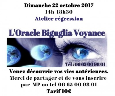 Atelier régression à L'Oracle Biguglia