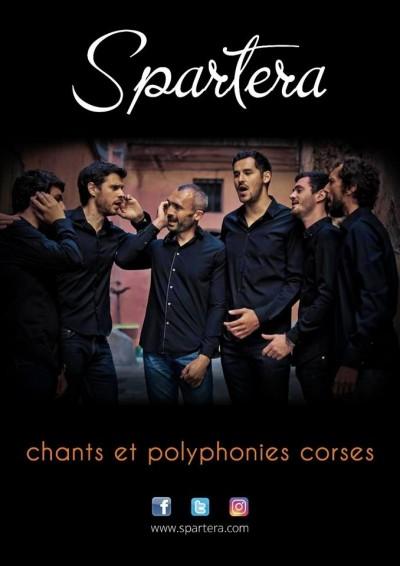 Spartera en concert à Saint Florent