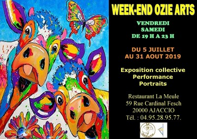 Week-end Ozie Arts - Restaurant La Meule - Ajaccio