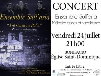 Sull'aria - Eglise Saint Dominique - Bonifacio