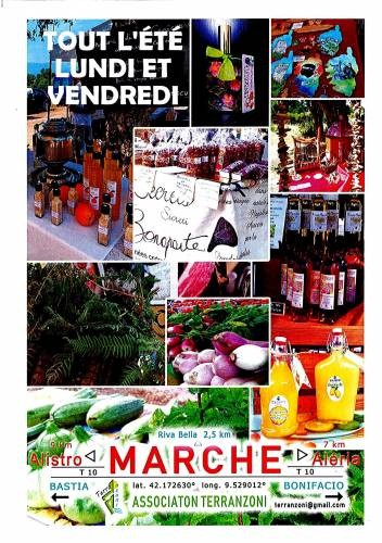 Marché artisanal de Terranzoni