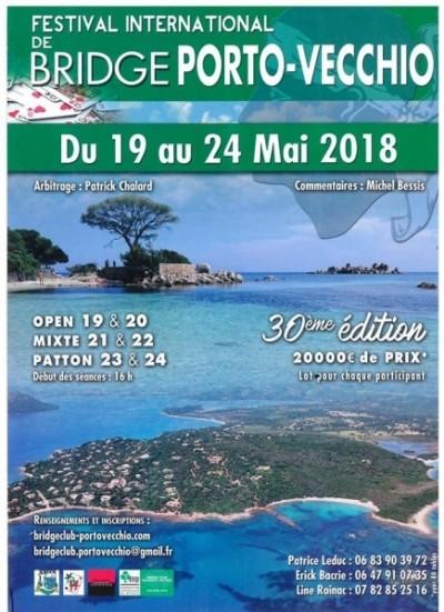 30° édition Du Festival International De Bridge