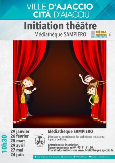 Initiation théâtre - Médiathèque Sampiero - Ajaccio