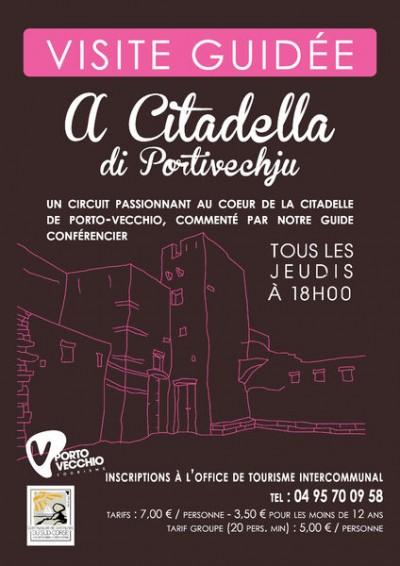 A Citadella - Visite guidée - Office de Tourisme de Porto-Vecchio