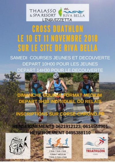 2ème Cross duathlon - Riva Bella - Linguizzetta