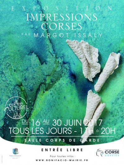 """Exposition """"impressions Corses"""" De Margot Issaly"""
