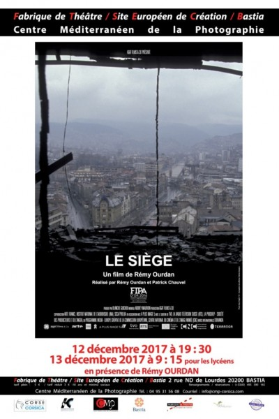 "Projection du film documentaire ""le siège "" de Rémy Ourdan"