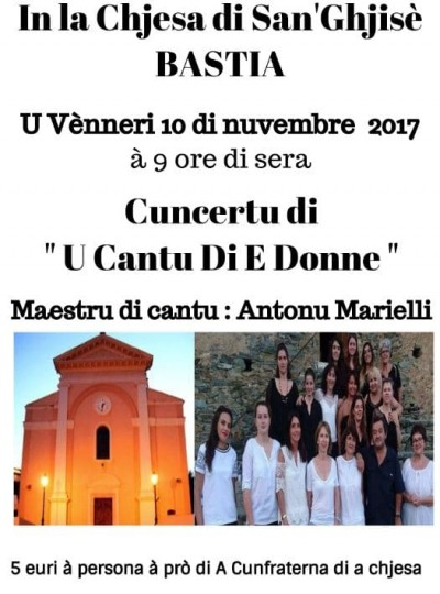 """Cuncertu di """"U Cantu Di E Donne"""""""