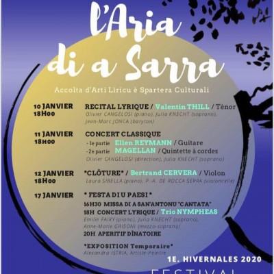 Festival - l'aria di a Sarra - Serra di Ferro