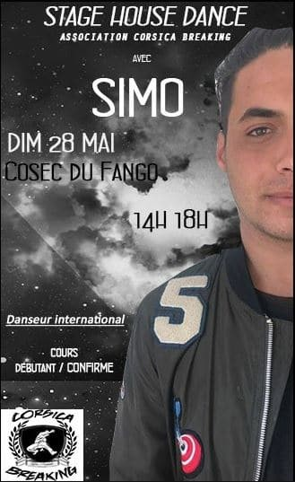 Stage House & Hiphop Avec Simo