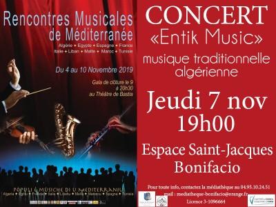 Rencontres Musicales de Méditerranée - Espace Saint Jacques - Bonifacio