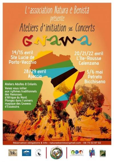 GNAWA : ateliers d'initiation et concerts