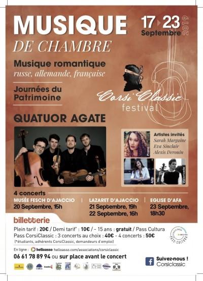 Concert - Romantisme Français - Festival CorsiClassic - Lazaret - Ajaccio