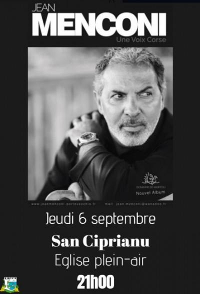 Jean Menconi en concert à Saint Cyprien