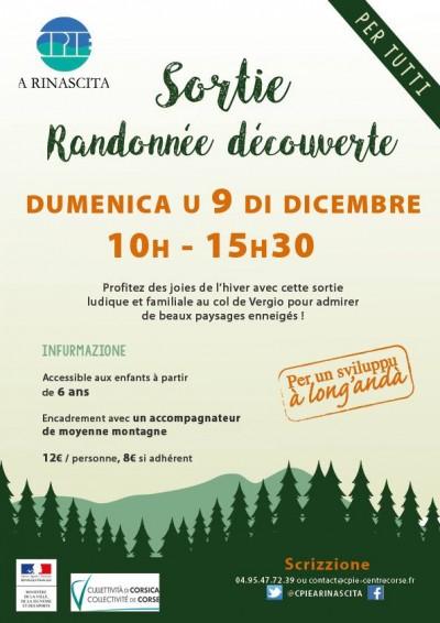 Sortie randonnée découverte - Col de Vergio - CPIE A Rinascita