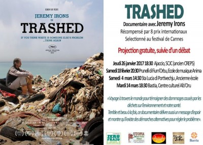 Trashed : documentaire avec Jeremy Irons