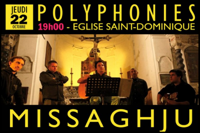 Missaghju en concert - Église Saint Dominique - Bonifacio