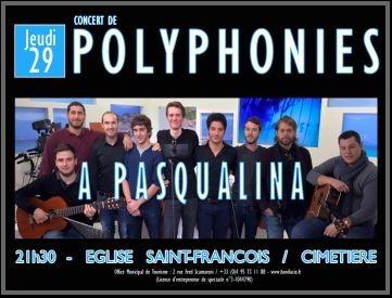 Concert A Pasqualina