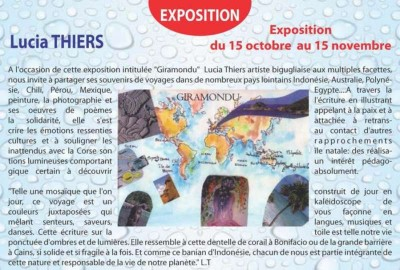 Exposition : Lucia Thiers