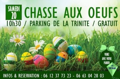 Chasse aux oeufs - Parking de La Trinité - Bonifacio