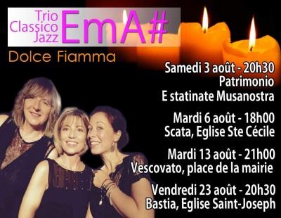 Trio EMA# - Dolce Fiamma - Eglise Sainte Cécile - Scata