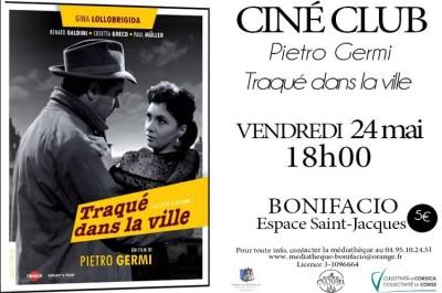 Ciné Club - Traqué dans la ville - Espace Saint Jacques - Bonifacio
