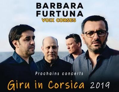Barbara Furtuna en concert à L'Île-Rousse