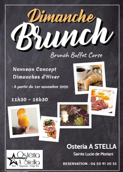 Brunch d'Hiver - Osteria A Stella - Sainte Lucie de Moriani