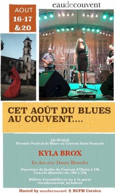 Festival de Blues au Couvent Saint François - Eau de couvent présente : Le Nuage - Oletta
