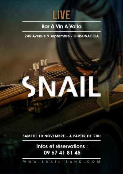 SNAIL en concert à Ghisonaccia