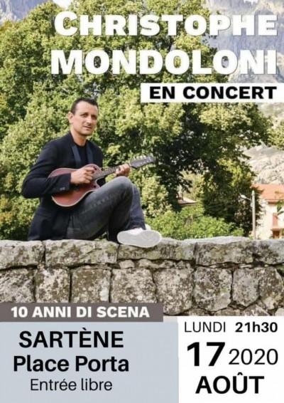 Christophe Mondoloni - Place Porta - Sartène