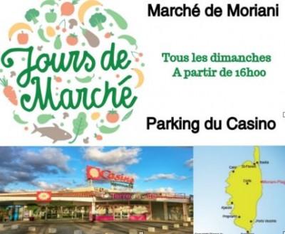 Marché de Moriani