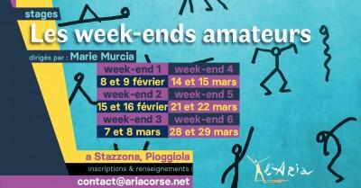 Les week-ends amateurs - L'Aria