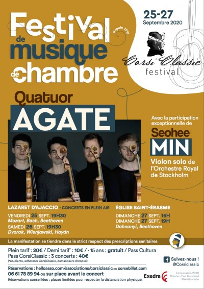 Festival Corsi-Classic - Eglise Saint Erasme - Ajaccio