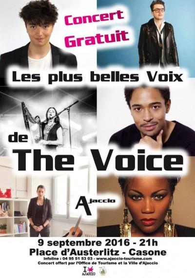 """Concert Gratuit """" Les Plus Belles Voix De The Voice """""""
