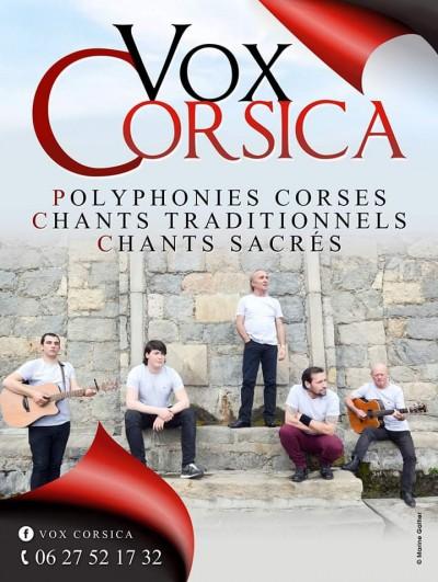 Vox Corsica en concert à Sotta