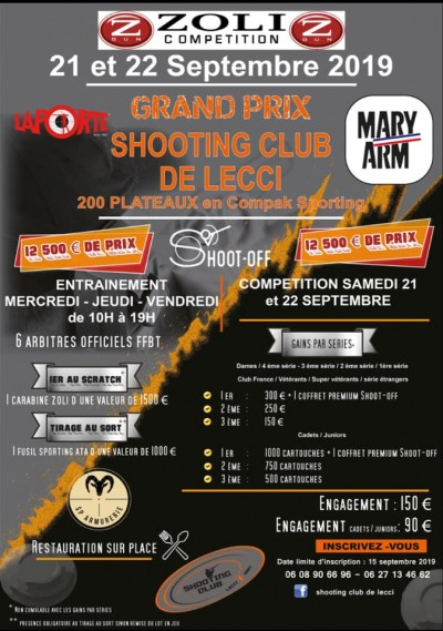 Grand Prix Shooting club de Lecci