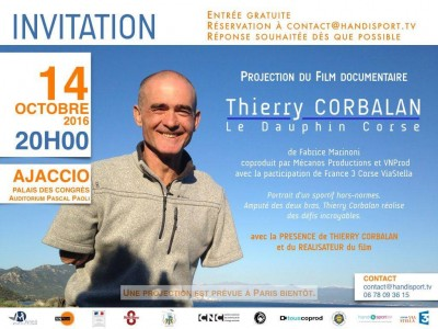 Projection documentaire Le Dauphin Corse