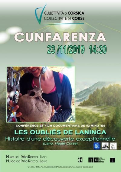 Les oubliés de Laninca - Musée de l'Alta Rocca - Levie