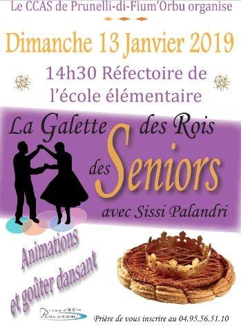La Galette Des Rois Des Seniors