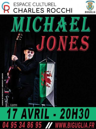Michael Jones - Espace Charles Rocchi - Biguglia