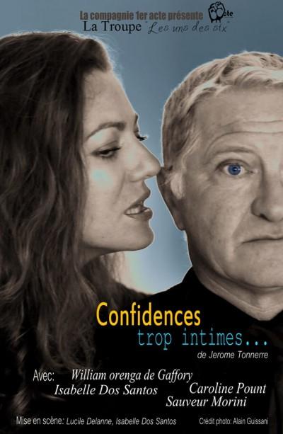 Confidences trop intimes - Théâtre Sant'Angelo - Bastia