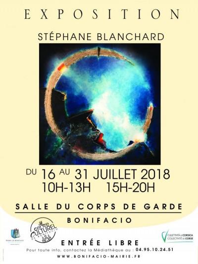 "STÉPHANE BLANCHARD "" Deep Blue"""