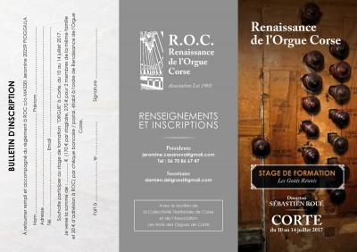 Stage d'orgue & de clavecin