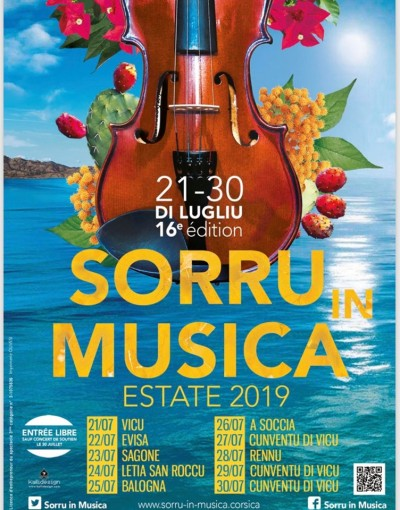 16ème édition - Festival Sorru in musica - Estate 2019