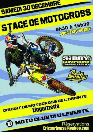 Stage De Motocross à Linguizzetta