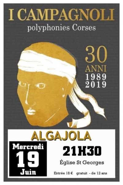 I Campagnoli en Concert à Algajola
