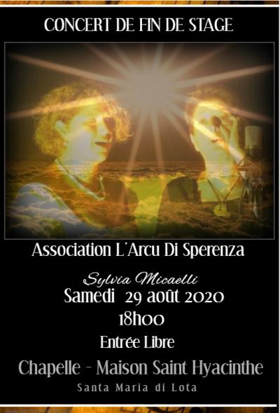 Concert polyphonies corses - Sylvia MICAELLI - Chapelle Saint Hyacinthe - Santa-Maria-di-Lota