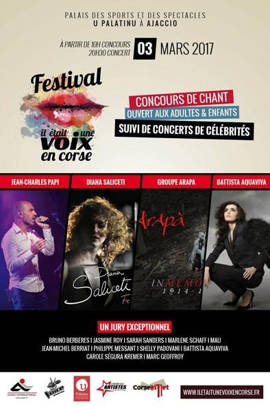 """Slimane au Festival """" IL ÉTAIT UNE VOIX EN CORSE"""""""