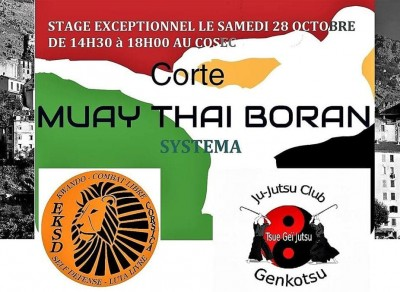 Stage Exceptionnel MUAY THAI BORAN